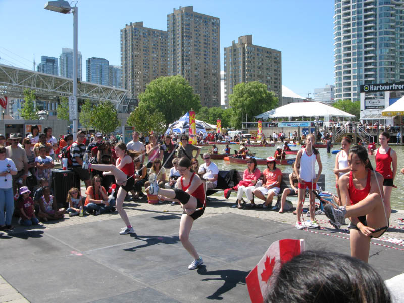 Brampton Acro Ropers Harbourfront Centre Demo